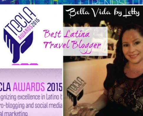 BVBL Wins Tecla Award for Best Latina Travel Blogger