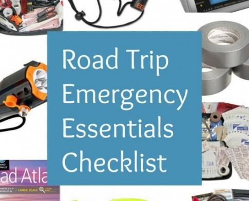 Road Trip Emergency Essentials Checklist