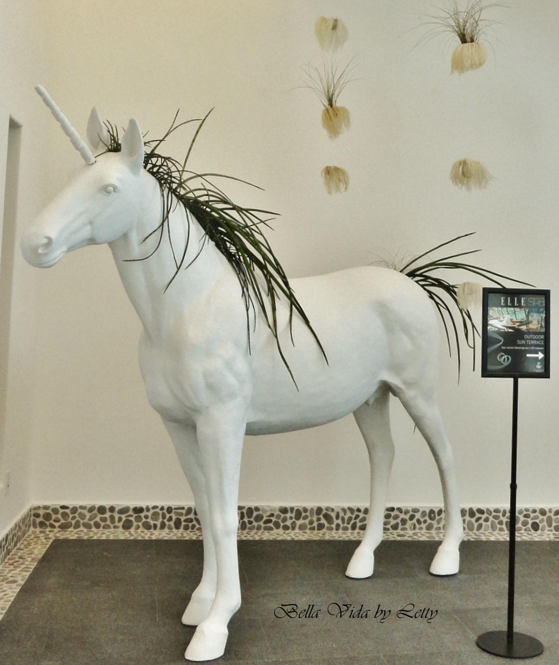 Unicorn at Elle Spa Eden Roc Miami Beach Florida