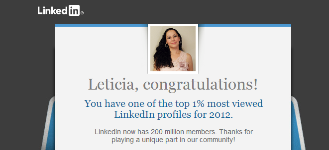 linkedin top percent