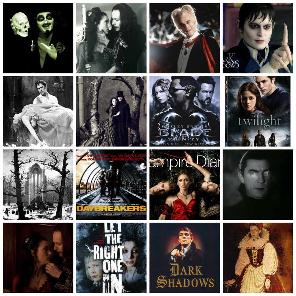 Vampire Collage movies tv film