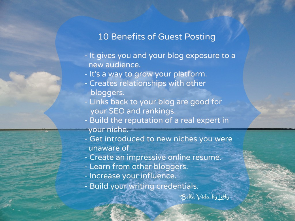 10 Benefits of Guest Posting