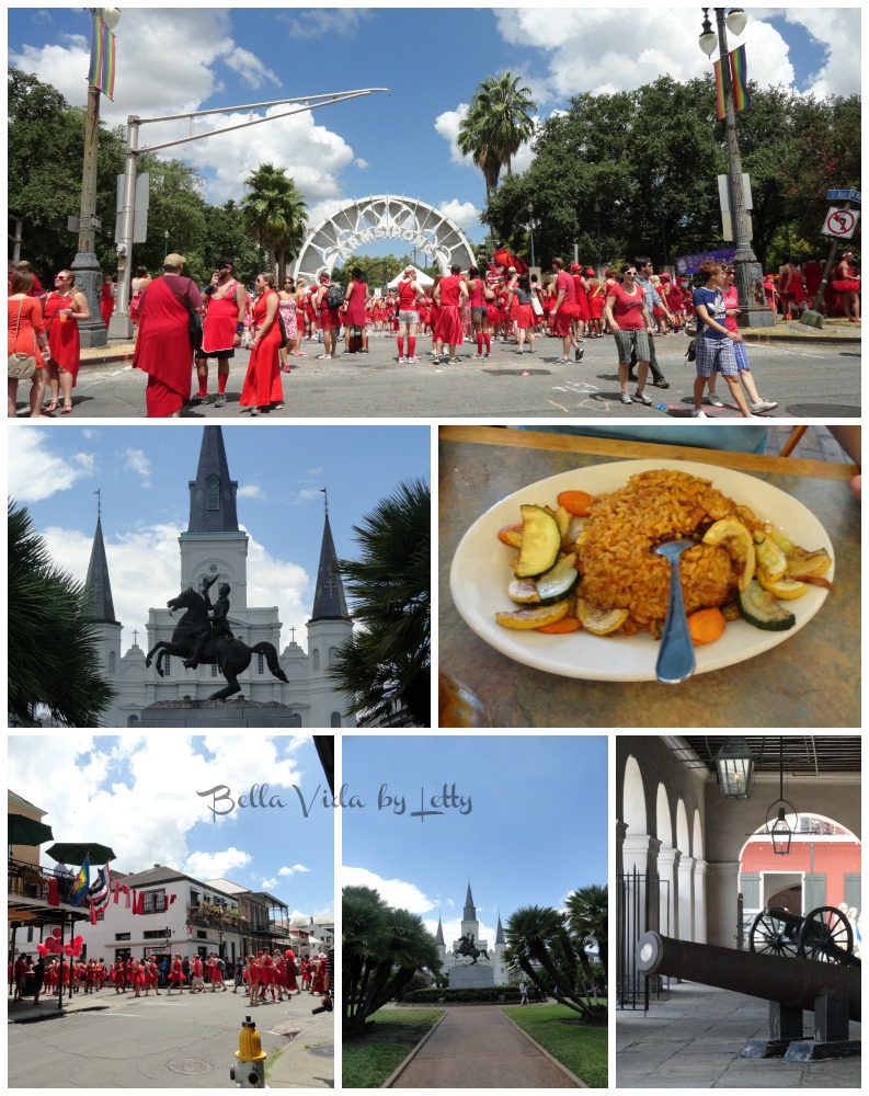 Jackson Square French Quarter New Orleans  Collage