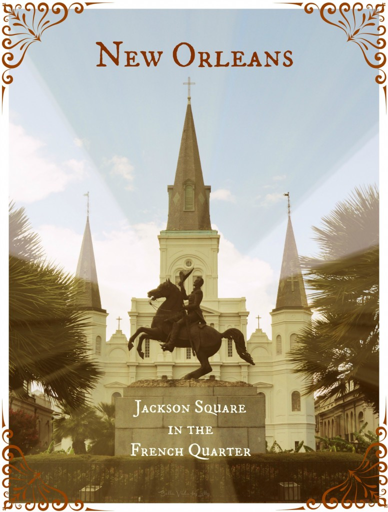 Jackson Square Postcard New Orleans