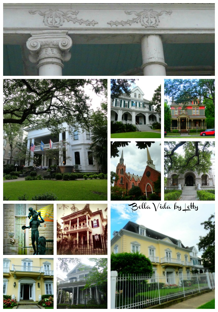 The Garden District in Uptown New Orleans