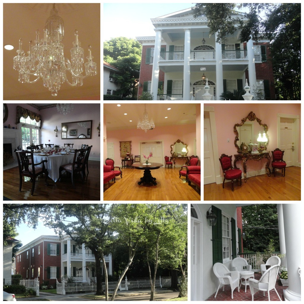 Hubbard Mansion Collage Garden District New Orleans