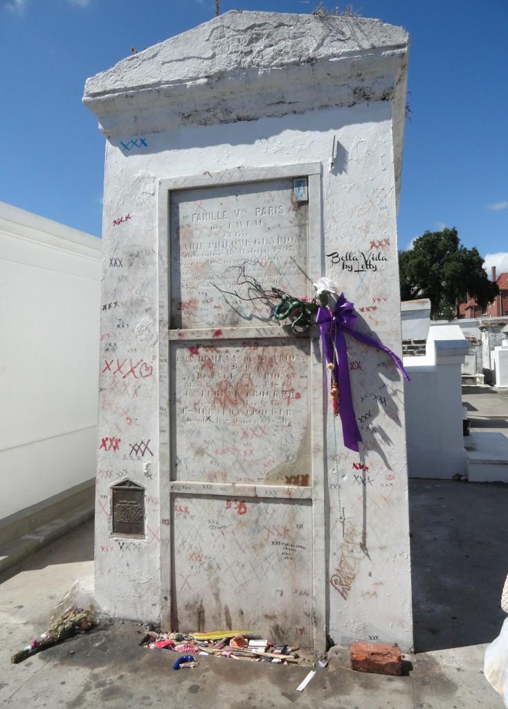 Voodoo Queen Marie Laveau Tomb