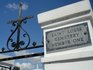 St. Louis Cemetery Number One in New Orleans