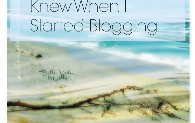 5 things i wish i knew when i started blogging