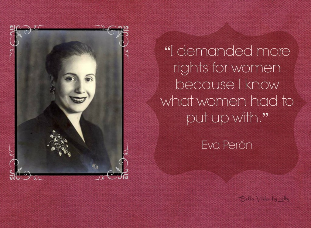 Eva Peron Quote