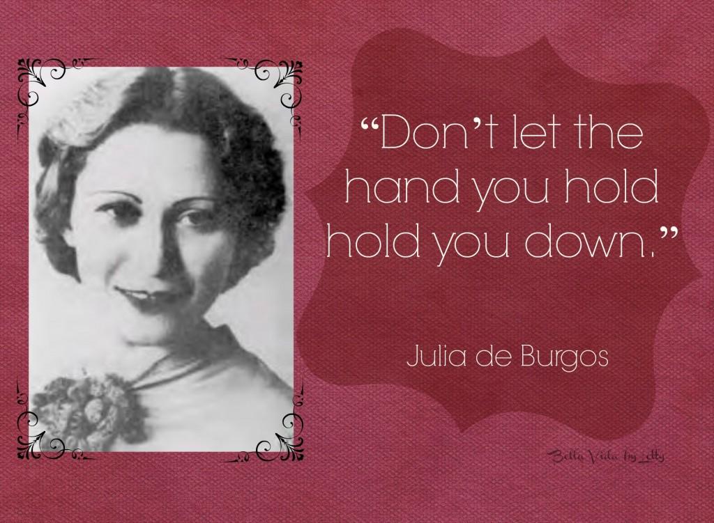 Julia de Burgos quote