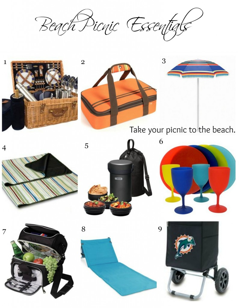 Beach Picnic Essentials