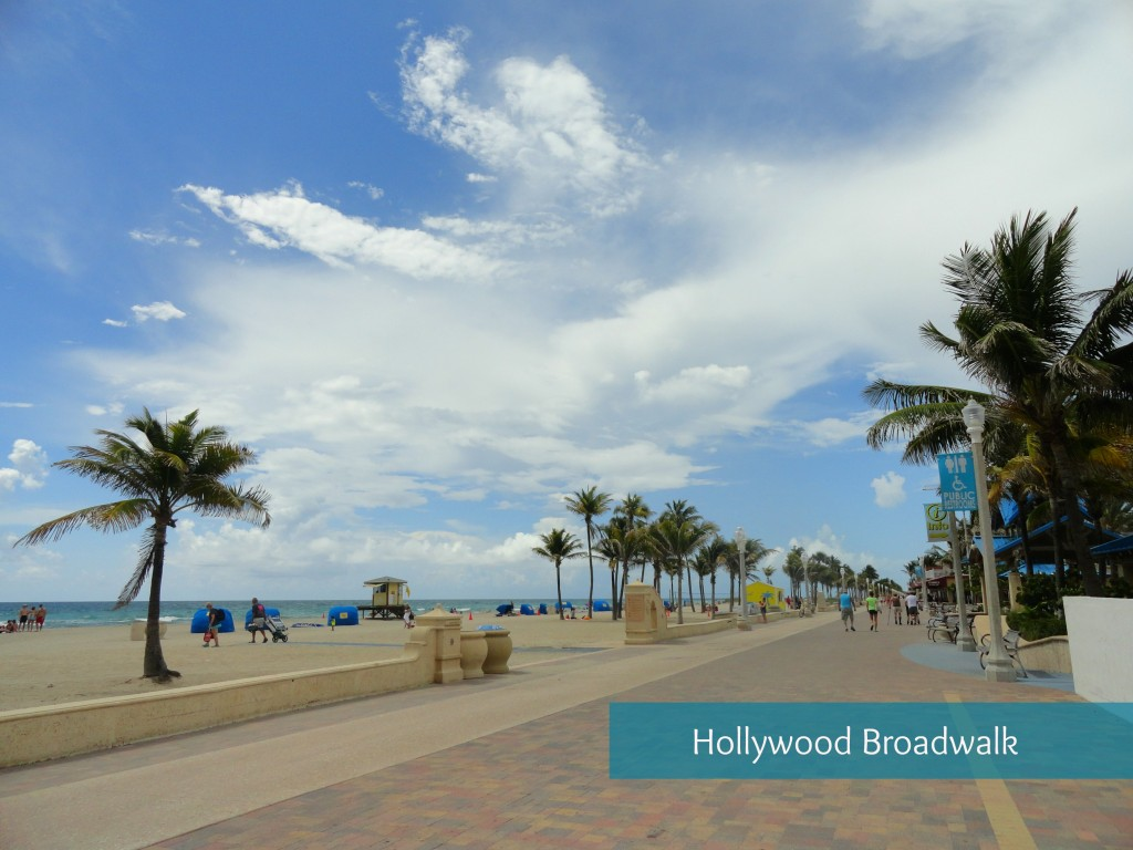 Hollywood Broadwalk Florida