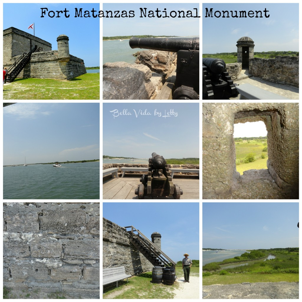 Fort Matanzas Collage
