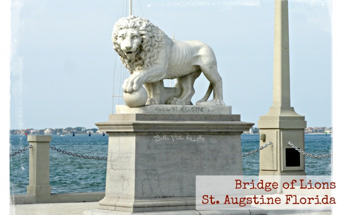 Bridge of Lions in St. Augustine Florida