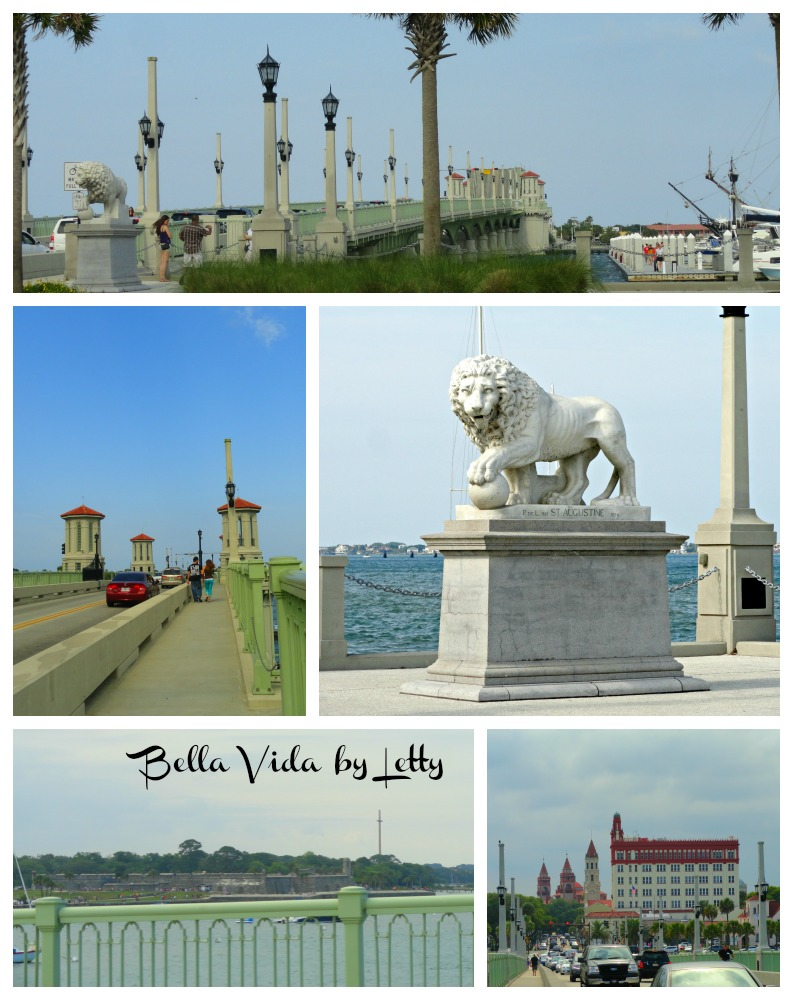 Bridge of Lions in Historic St. Augustine Florida