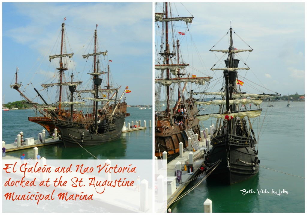 el Galeon and the Nao Victoria