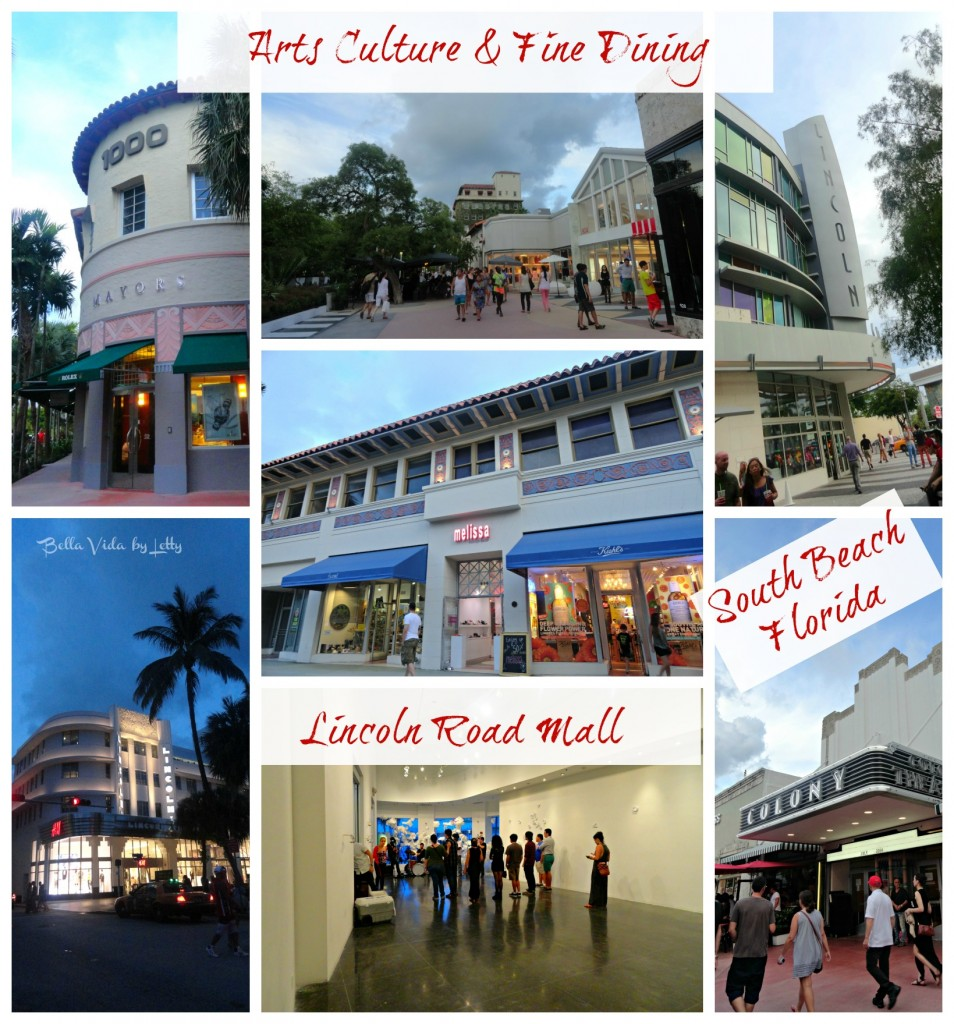 Lincoln Road Mall South Beach