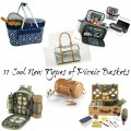 11 Cool New Types of Picnic Baskets