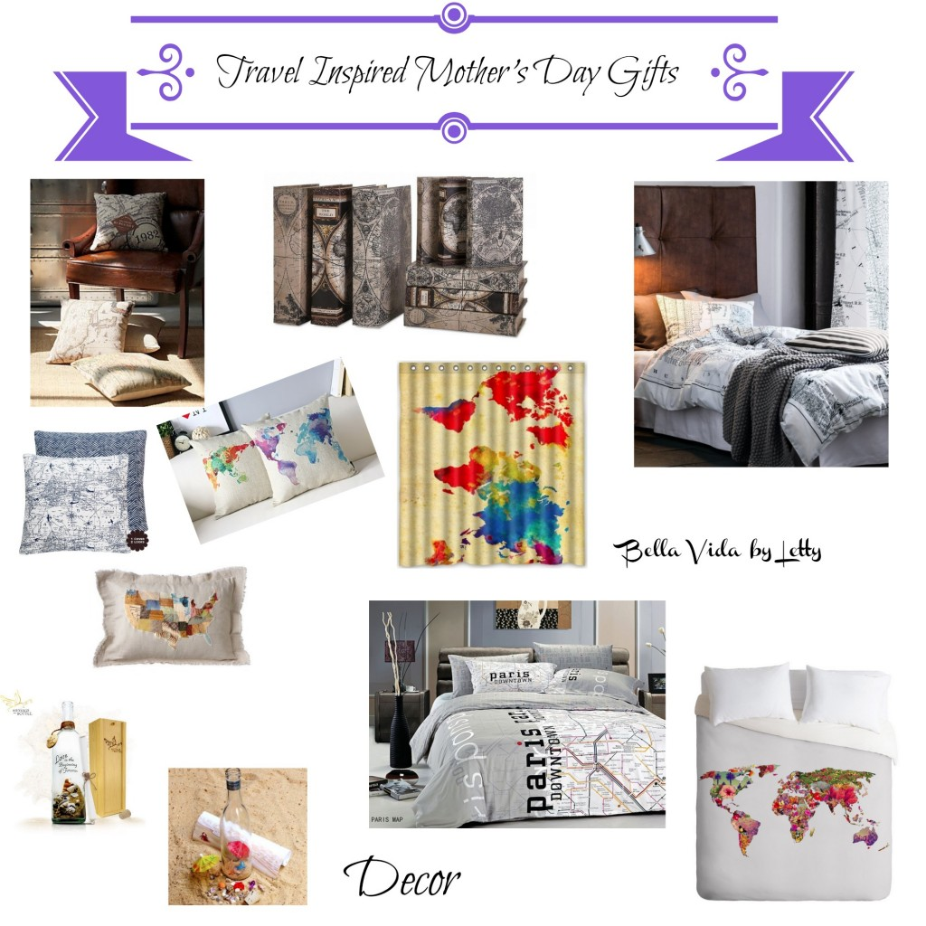travel inpired mothers day gift guide Decor