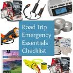 Road Trip Emergency Essentials Checklist
