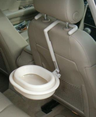 car water bowl