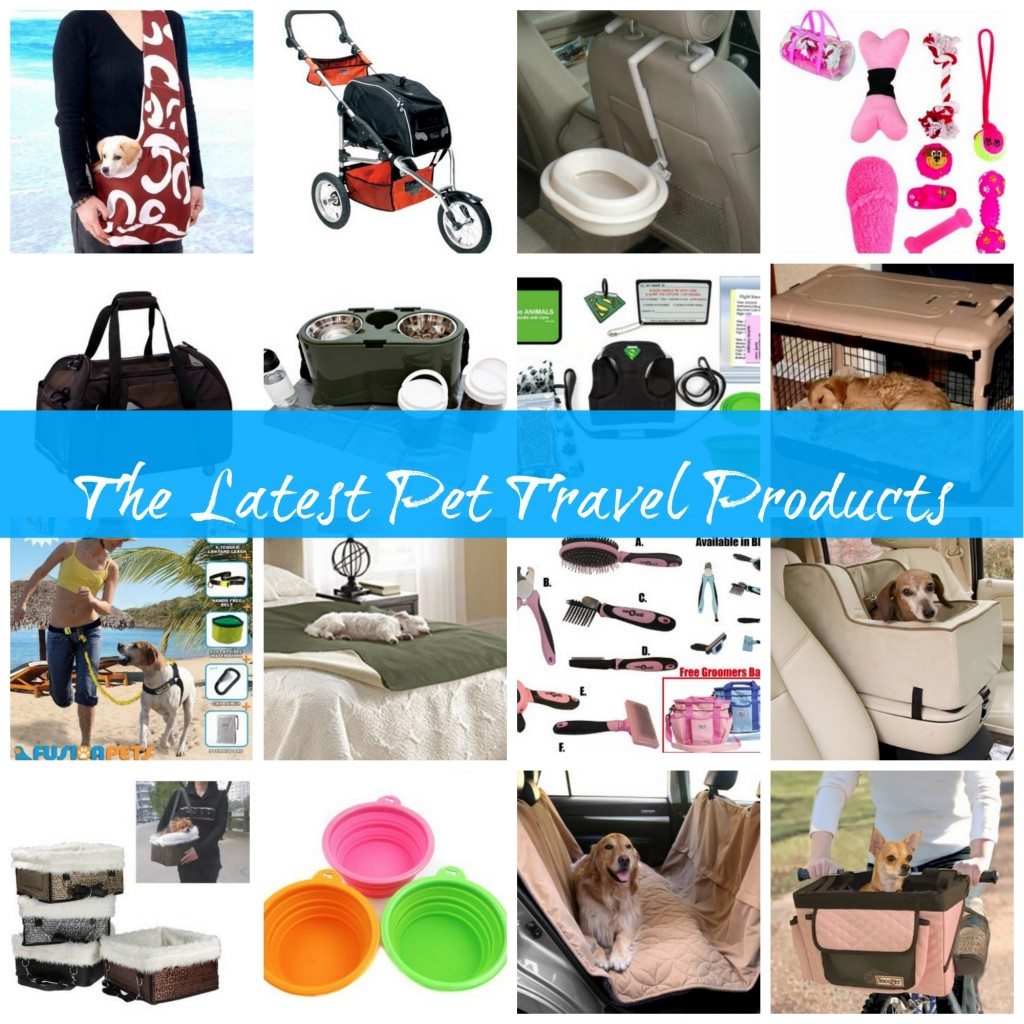 the latest pet travel products