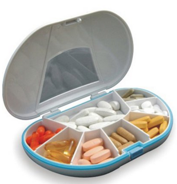 pill vitamin storage