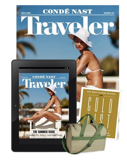 Condé Nast Traveler  travel magazine