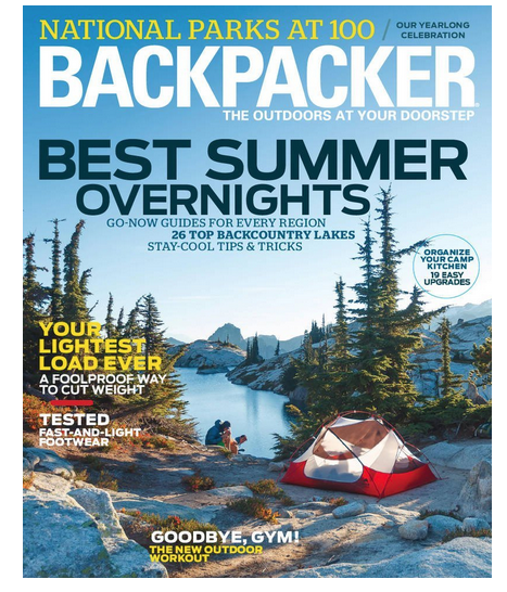 backpaker travel magazine