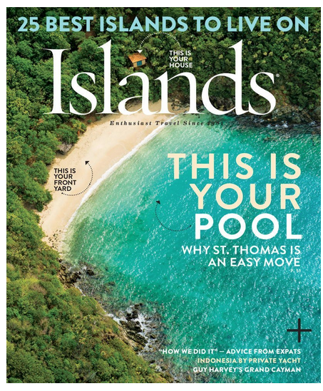 Islands travel magazine