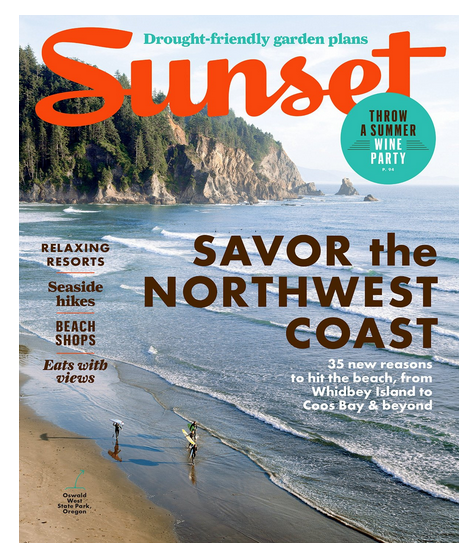 Sunset travel magazine