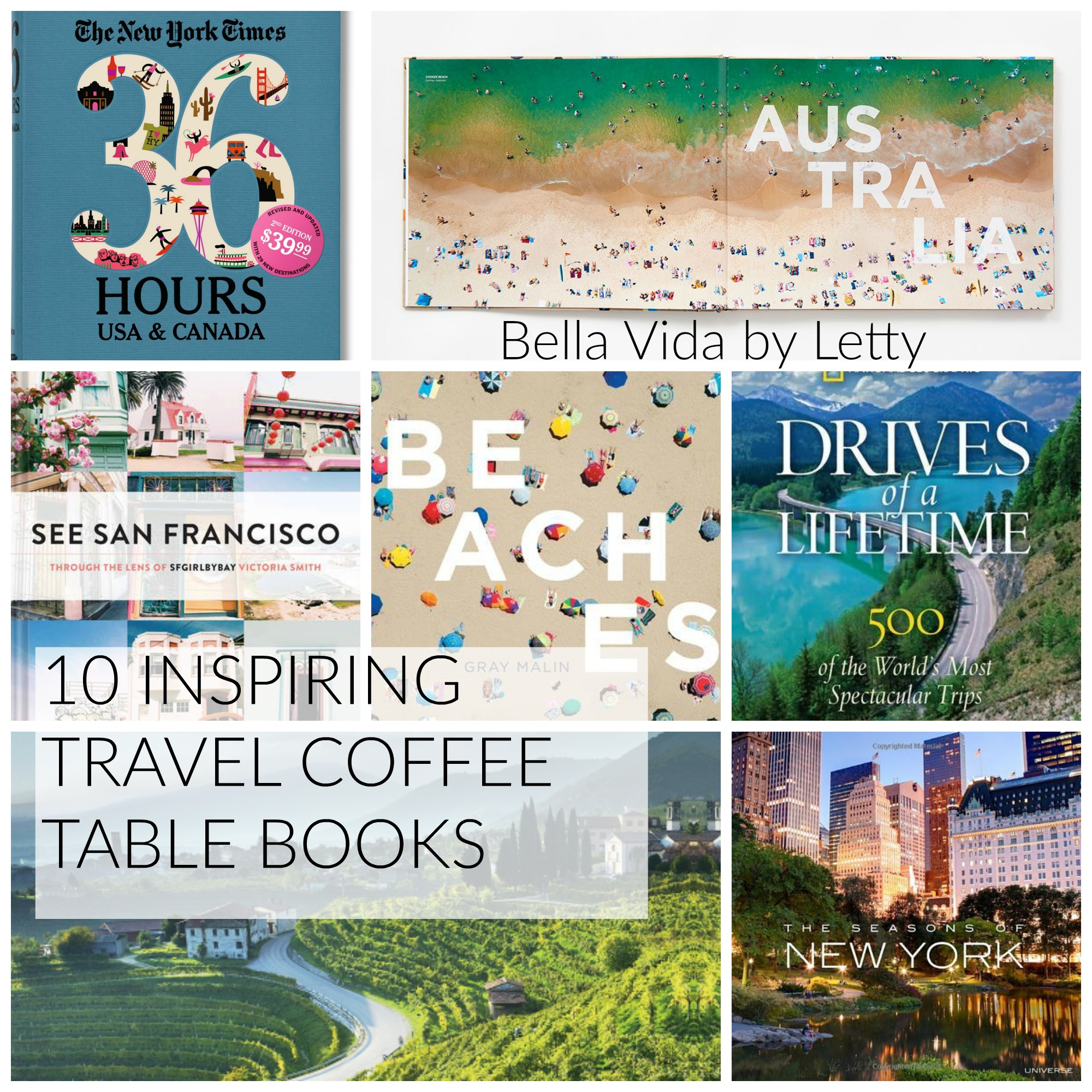Bella vida by letty for Top 10 coffee table books 2016